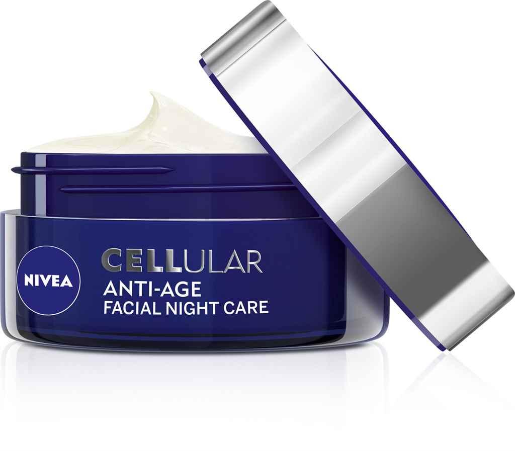 NIVEA Cellular Anti-Age Bïrfiatalító éjszakai arckrém 3999Ft