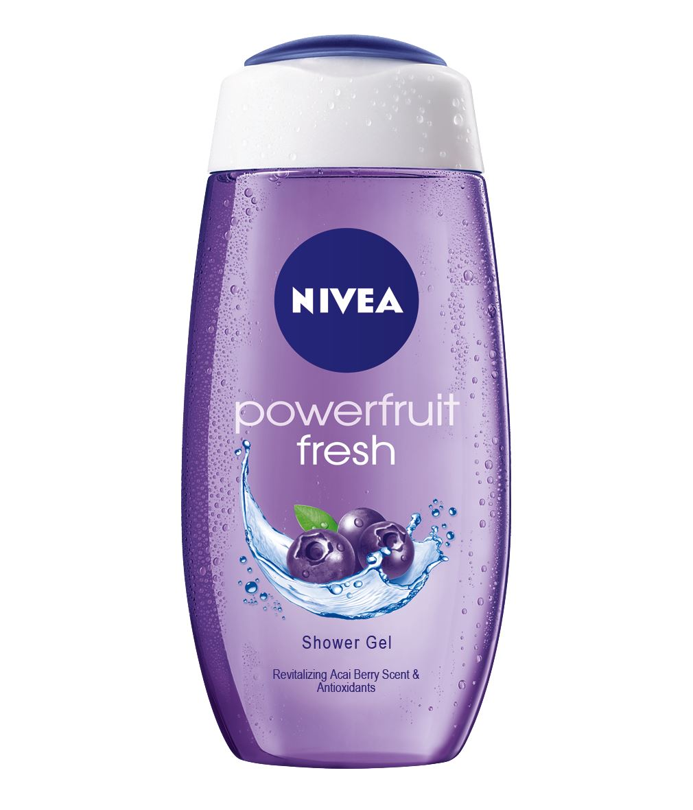 NIVEA Powerfruit Fresh tusfürdő 250ml 749Ft