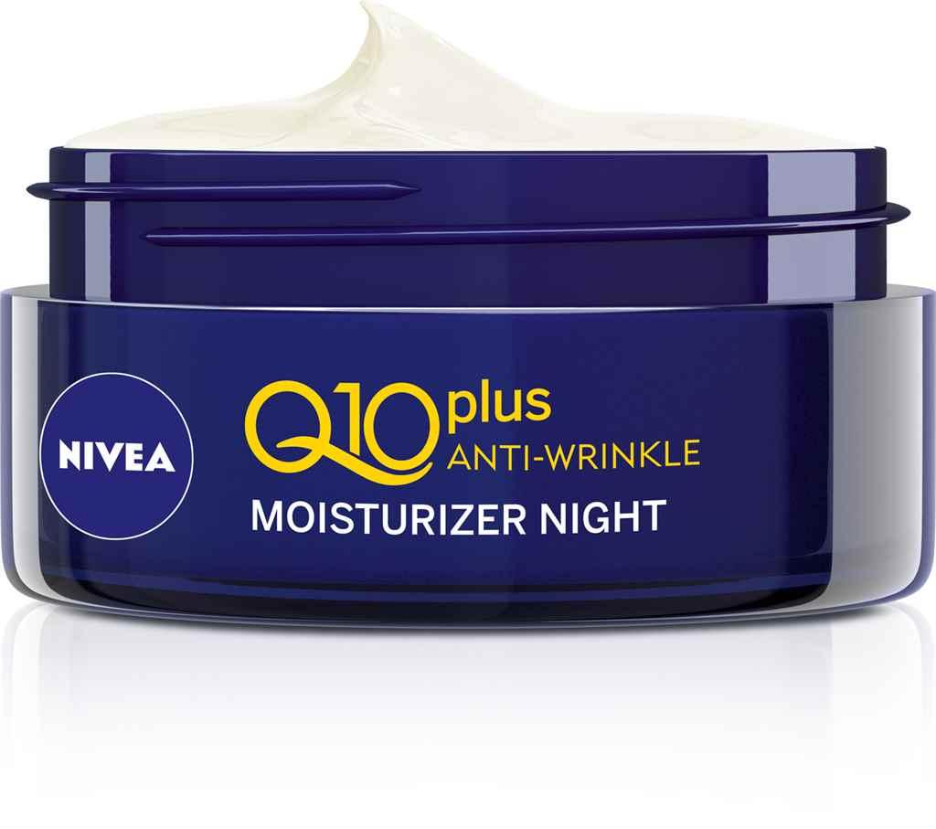NIVEA Q10 PLUS Ránctalanító éjszakai arckrém 3599Ft
