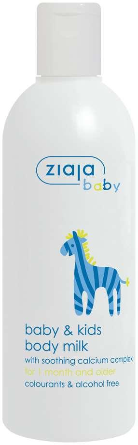 Ziaja Baby body milk Baba es gyeremek testapolo tej 300ml