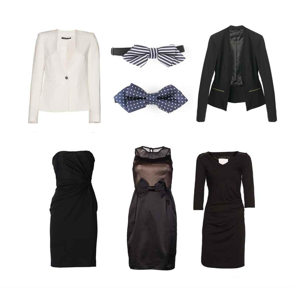 blézerek és kis fekete ruha