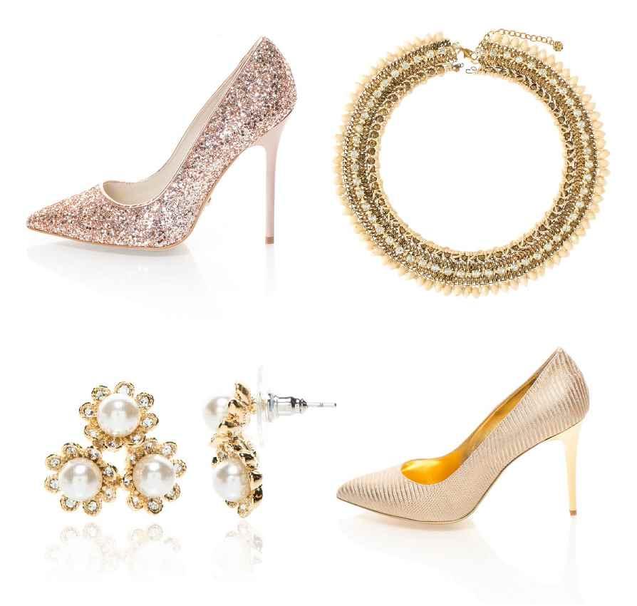 cipők és gyöngy